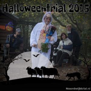 Halloweentrial zondag Klasse 1-12 - Anita Koopman 2e plaats met