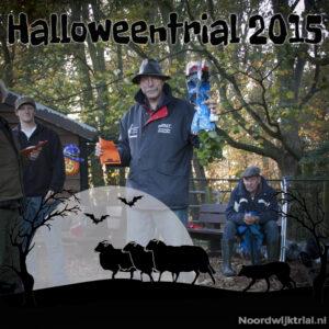Halloweentrial zondag klasse 2 3e plaats - Joop Boumans met LB C