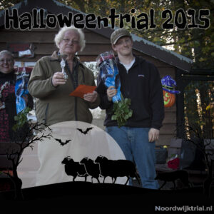 Halloweentrial zondag klasse 2 2e plaats - Loek Geerlings -met Q