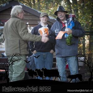 Halloweentrial zondag klasse 2 1e plaats - Joop Boumans met Bowm